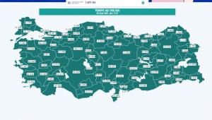 Edirne'de dün itibariyle 10 bin kişi aşılandı