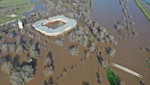 Er Meydanı sular altında kaldı