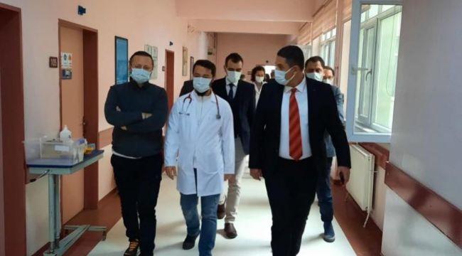 Sağlık Müdürü Uzunköprü'de incelemede bulundu