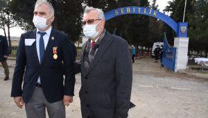 Şehitlik'te gaziler için 'Gaziler Mezarlığı' oluşturuldu
