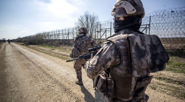 Teröristler sınırı geçemedi
