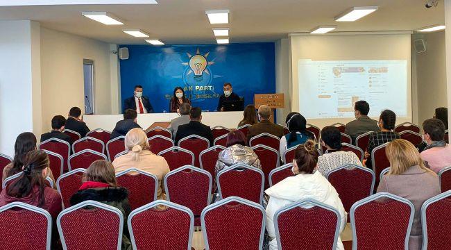 AK Parti'de 'Etkili Sosyal Medya Kullanımı' eğitimi