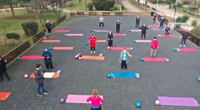 Belediyeden tüm vatandaşlara egzersiz etkinliği
