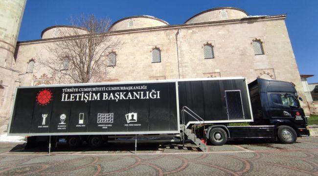 Dijital Tır ilk olarak Edirne'de