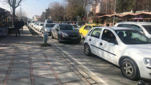 Edirne'de kısıtlama sonrası trafik çilesi