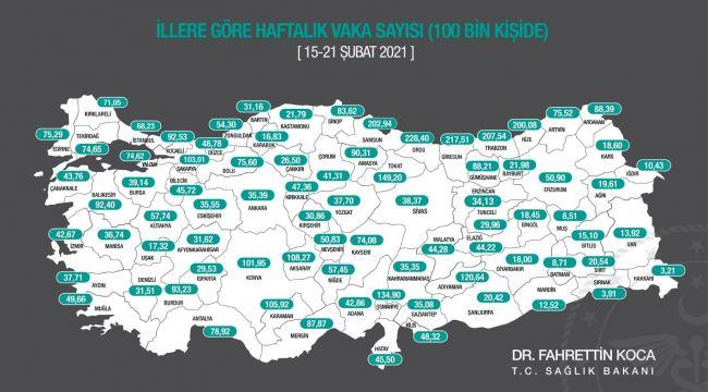 Edirne'de vaka sayıları artıyor