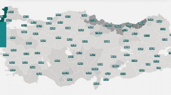 Edirne'de vaka sayısı korkuttu