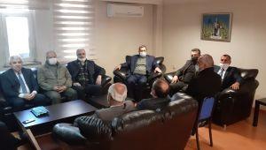 MHP'den Cingöz'e ziyaret
