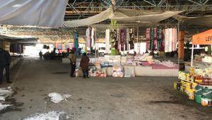 Soğuk havadan pazaryeri de etkilendi