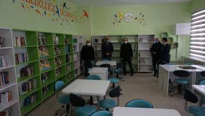 Şubaşı beldesine yeni kütüphane kazandırıldı