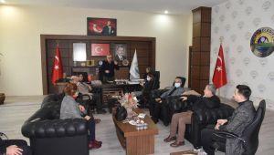 TBMM KEFEK Başkanı Aksal'dan, Keşan Belediyesi'ne ziyaret