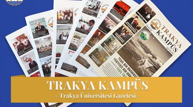 'Trakya kampüs' geri dönüşümlü kağıtla okuyucularının karşısında