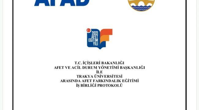 AFAD ve TÜ'den işbirliği protokolü