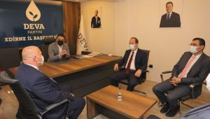 Belediye Başkanı Gürkan'dan Arda'ya ziyaret