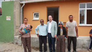 Belediyeden ihtiyacı olanlara 233 ev yardımı