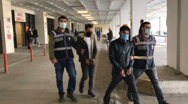 Cezaevinden izinli çıkan 2 hükümlü, dolandırıcılıktan tutuklandı