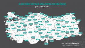 Edirne'de vaka sayılarında düşüş yaşanıyor