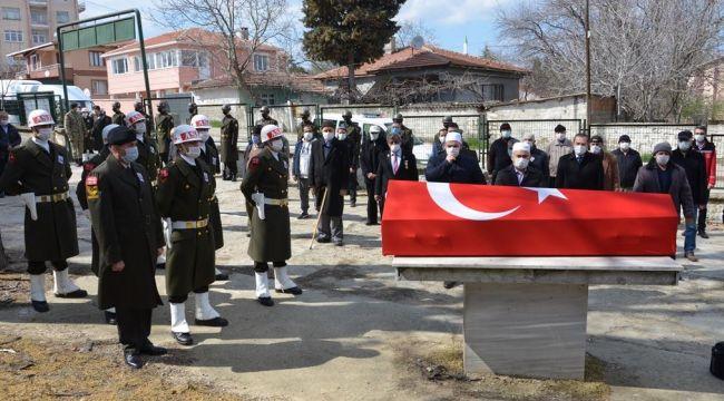 Kıbrıs kahramanı ebediyete uğurlandı