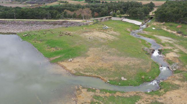 Kuruyan baraja Meriç Nehri can suyu oldu
