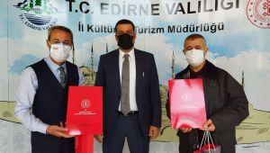 Soytürk'ten kent tanıtımına katkı verenlere teşekkür