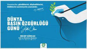 Gürkan Basın Özgürlüğü Günü'nü Atatürk'ün sözü ile kutladı
