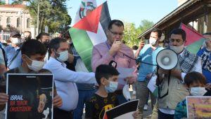 Mescid-i Aksa'ya yapılan saldırıları protesto ettiler