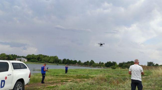 AFAD ve İtfaiye personeli drone eğitimi aldı