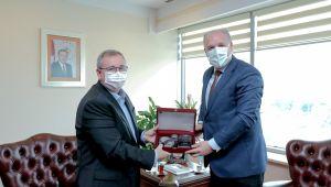 KDTP Genel Başkanı Damka'dan Tabakoğlu'na ziyaret