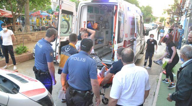 Parkta silahlı saldırıya uğrayan kişi yaralandı