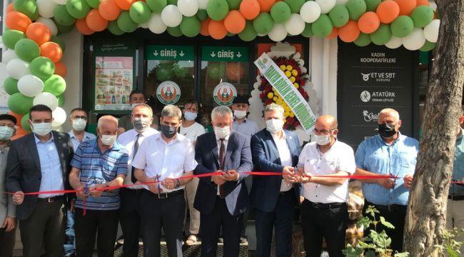 Tarım Kredi Kooperatif marketi Kıyık'ta açıldı