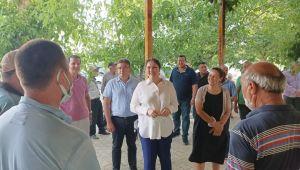 AK Parti İl Başkanı İba'dan köy ziyaretleri