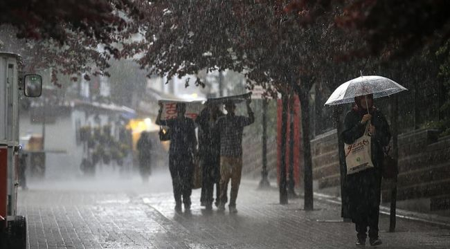 Bayramın ikinci günü sağanak yağış bekleniyor