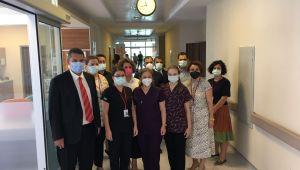 Devlet Hastanesi'nden uluslararası hizmet