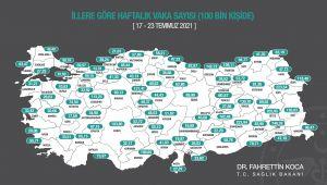 Edirne'de haftalık vaka 3 katına çıktı