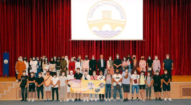 Gençler, 'Gençlik Değişimi' projesi ile TÜ'de buluştu