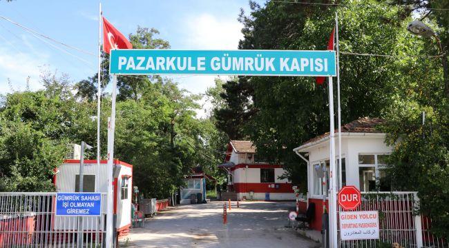 Pazarkule Sınır Kapısı 16 ay sonra açıldı