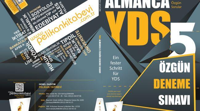 Arş. Gör. Şentürk'ün Almanca YDS kitabı yayımlandı