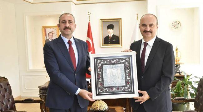 Bakan Gül'den Edirne Valiliğine ziyaret