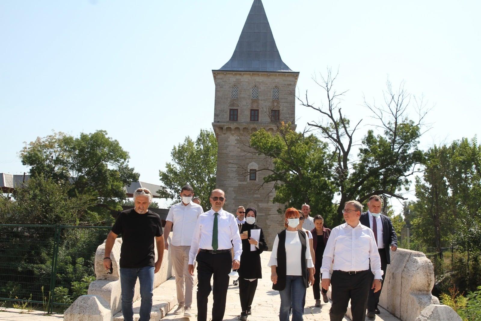 Edirne Sarayı gün yüzüne çıkarılacak
