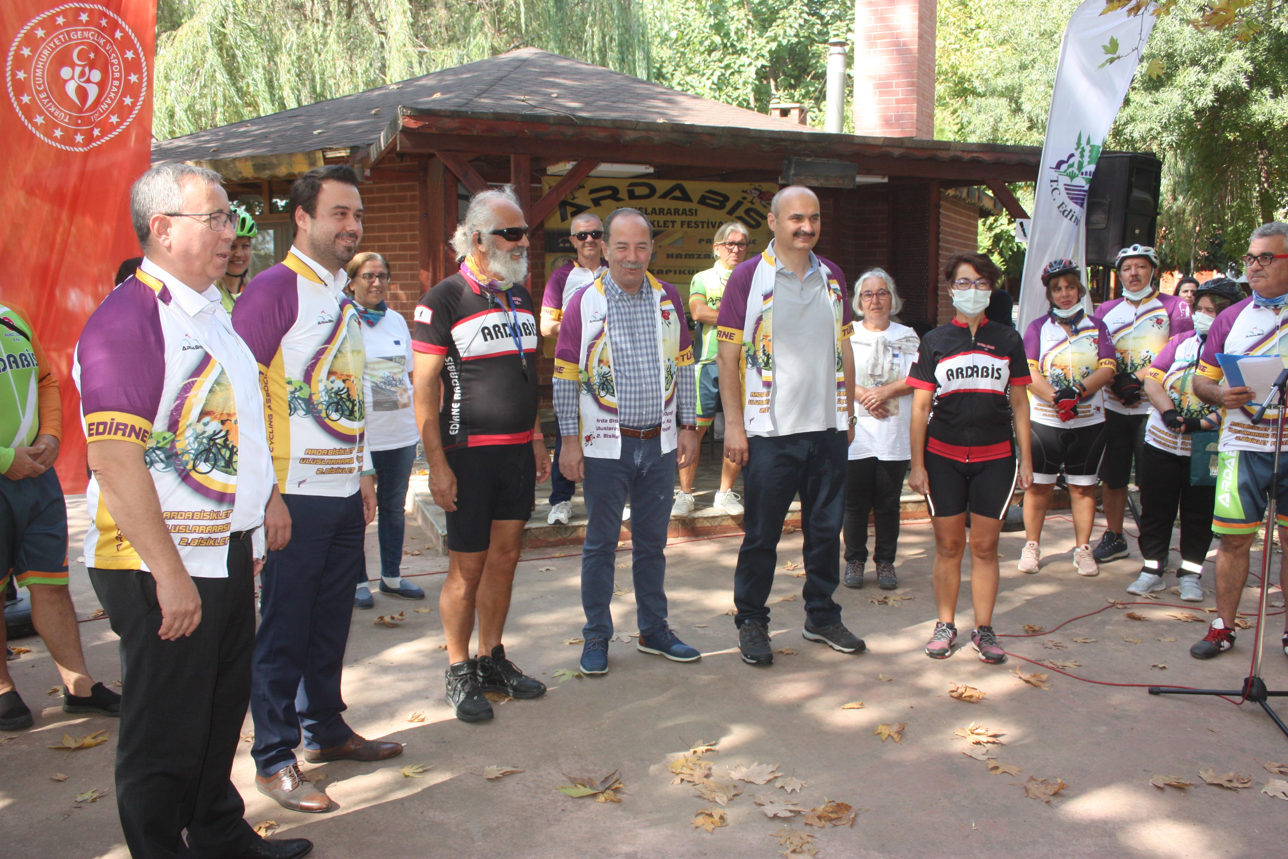 'En uzun bisiklet parkuru Edirne'de olacak'