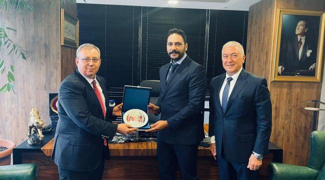 Rektör Tabakoğlu'ndan iadei ziyaret