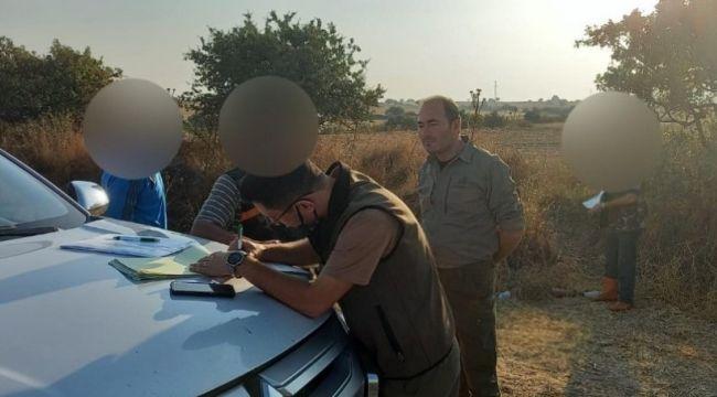Yasak günde avlanan 4 kişiye para cezası
