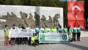 Yeşilay'dan Çanakkale'ye özgürlük turu