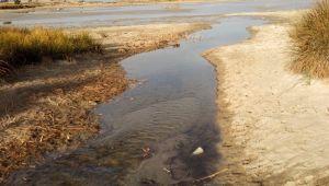 Kuruyan lagün göllerine su verildi