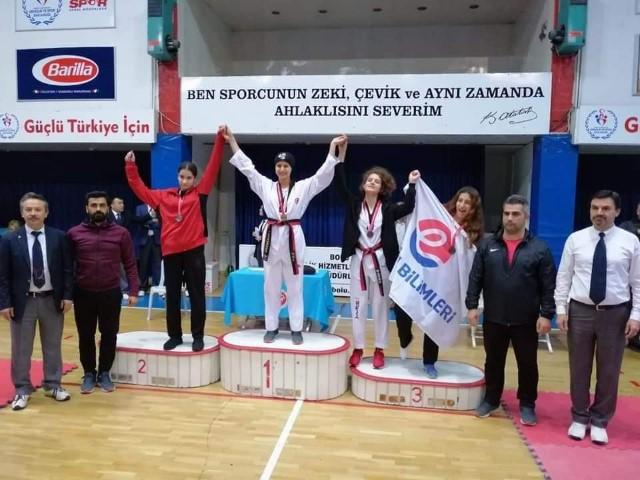 Taekwondoda Edirne'yi gururlandırdı